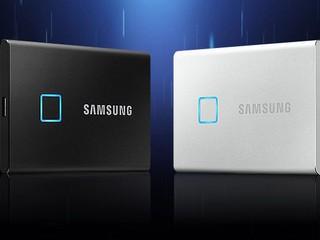 【CES 2020】加入指紋辨認解鎖、讀速超 1GB/s Samsung 推出 T7 Touch 便攜式 SSD