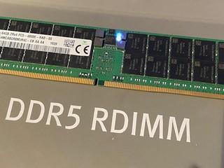 【CES 2020】單條 64GB 容量、4800 MHz SK-Hynix 展示下代 DDR5 RDIMM 實物