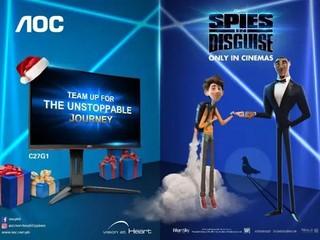 成為動畫《變雀特工》官方顯示器合作夥伴 AOC 全新顯示器為您創造娛樂新體驗