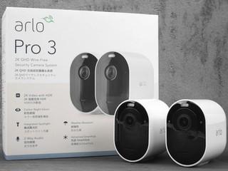 AI 影像分析、彩色夜視 Arlo Pro 3 2K HDR 無線攝錄機