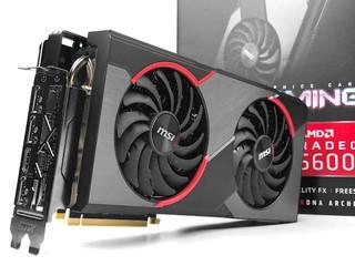 頂配 TWIN FROZR 7 散熱器 MSI Radeon RX 5600 XT Gaming Z 繪圖卡