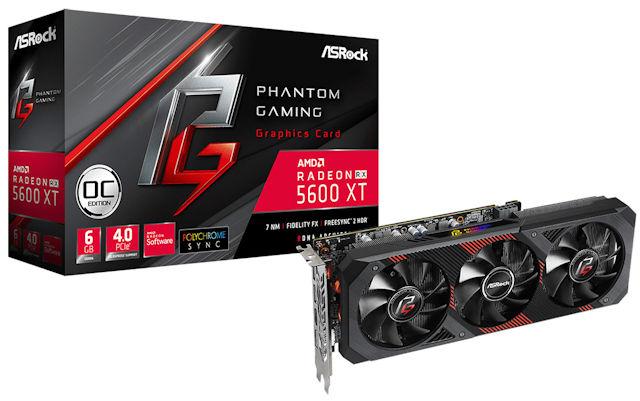 ASRock Radeon RX 5600 XT
