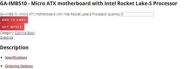 Rocket Lake H510