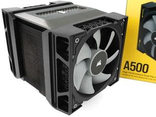 250W TDP、Direct Touch 技術 CORSAIR A500 雙風扇 CPU 散熱器