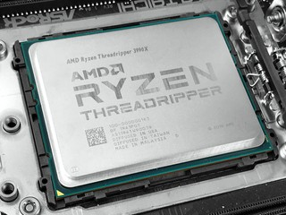 高達 64 核心 !! 288MB Cache AMD Ryzen Threadripper 3990X 處理器測試