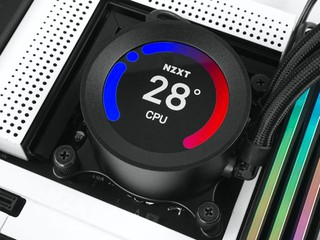 60mm 圓形 LCD、極致散熱 NZXT KRAKEN Z63 280mm 一體式水冷