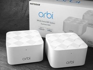 簡約美學 !! 超迷你 MESH Wi-Fi !!  NETGEAR Orbi Mesh WiFi RBK12 套裝