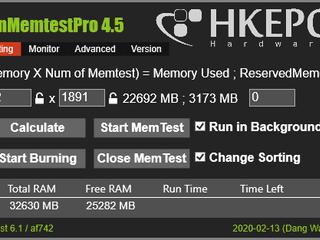 ㊙️ 想知道記憶體穩定嗎 ? RunMemTestPro 4.5 - HKEPC 文書機版本