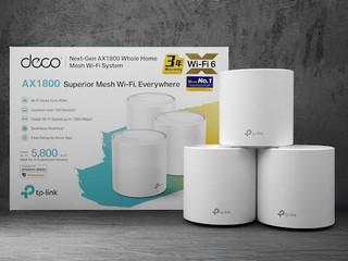 【腦場掃地僧 ㊙️】TP-LINK Wi-Fi 6劈劈劈 AX10 HK$729 Deco X20 三支裝HK$2,180