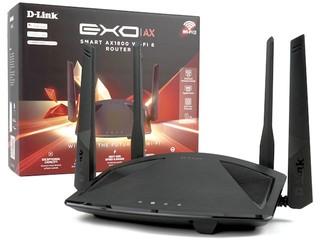上下行 MU-MIMO、多人同時連線!! D-Link DIR-X1860 AX1800 雙頻無線路由器