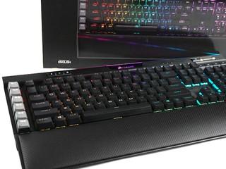 升級 PBT 鍵帽、Stream Deck 連動 CORSAIR K95 RGB Platinum XT 電競鍵盤