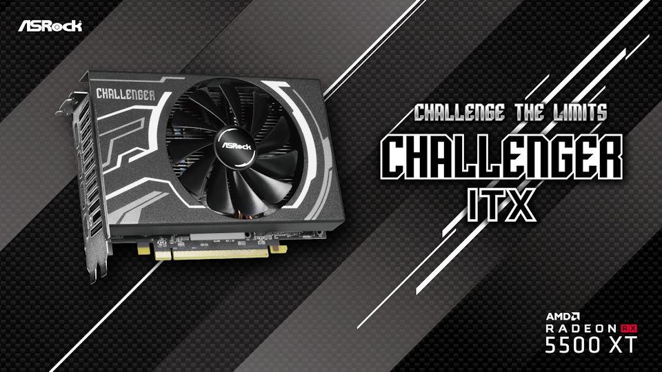 RX 5500 XT Challenger ITX 8G