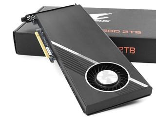 6.3GB/s 極速、支援 RAID 0/1/10 AORUS RAID SSD 2TB PCIe Card