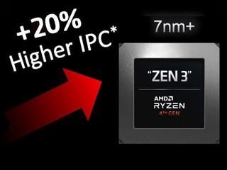 【蘇媽說法太保守!?】IPC 性能點止升 15% Zen3 團隊透露:較 Zen 2 提供可達 20%!!