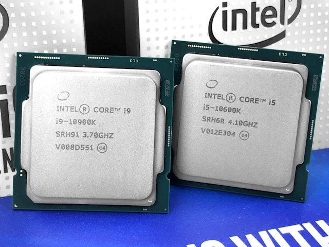 Intel Core i9-10900K i5-10600K