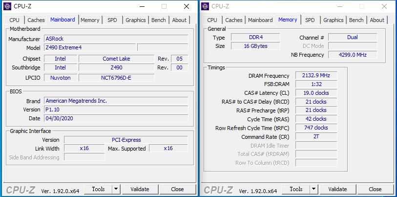 ASROCK Z490 EXTREME 4 DDR4 4266