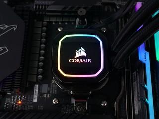 ARGB 冷頭、ML 磁懸浮風扇 CORSAIR iCUE H100i RGB PRO XT 一體水冷