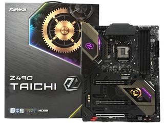 14 相供電、3 風扇散熱器 ASROCK  Z490 TAICHI 主機板