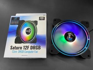 【腦場掃地僧 ㊙️】多環設計、搶攻入門市場 AeroCool Saturn 12F DRGB 風扇賣街 HK$59