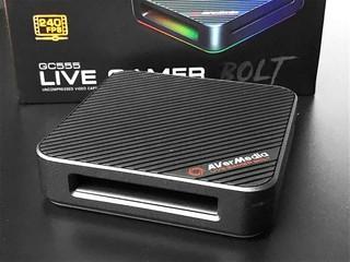【腦場掃地僧 ㊙️】支援 4K 60Hz HDR、FHD 240Hz AVerMedia Live Gamer Bolt GC555 TB3 擷取盒 - HK$3,380