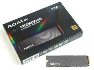 搶攻入門級用家市場 ADATA SWORDFISH NVMe Gen3 M.2 SSD
