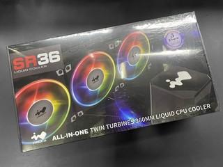 【腦場掃地僧 ㊙️】雙渦輪、Jupiter ARGB 風扇 InWin SR24/SR36 AIO 一體式水冷 $799/$899