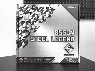 【腦場掃地僧 ㊙️】B550 妖板到貨啦 ... ASROCK B550 Steel Legend 主機板 - HK$1,270
