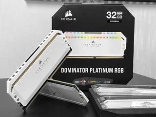 【腦場掃地僧 ㊙️】白色版終於齊大貨了 CORSAIR Dominator Platinum RGB 記憶體白色版本