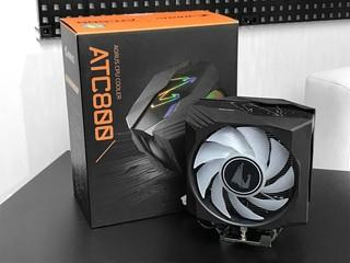【腦場掃地僧 ㊙️】CPU 溫度、轉速指示燈 GIGABYTE AORUS ATC800 散熱器 - HK$699