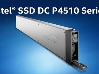 【四皮嘢買到超大 15.36TB 容量 SSD!!】 Intel 推出全新 DC P4510 EDSFF 長間尺 SSD
