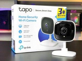 128GB SD 連續錄 16 天 TP-Link C100 家居 Wi-Fi 攝影機