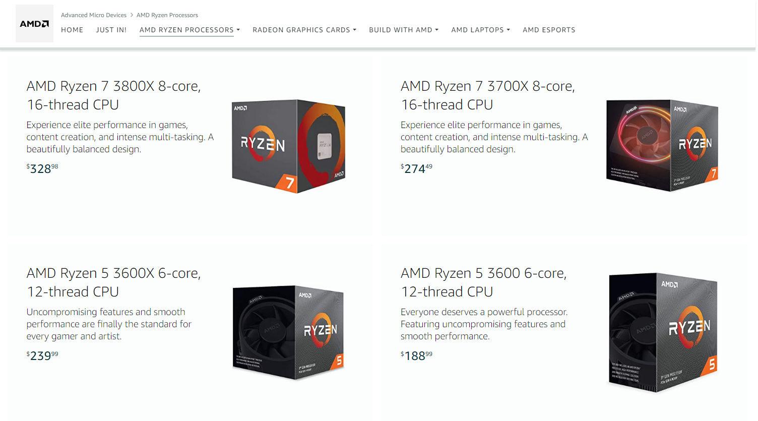 Ryzen 3000 Sale