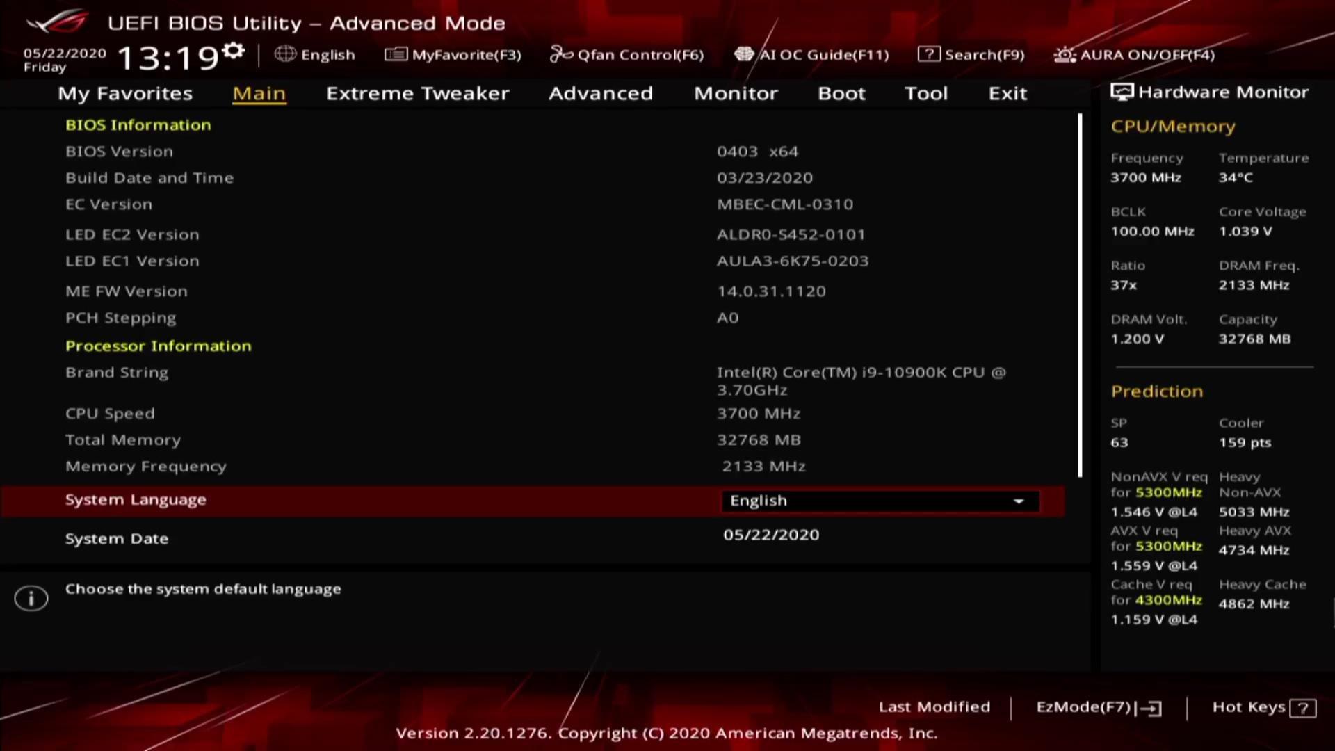ASUS ROG Maximus XII Hero Wi-Fi