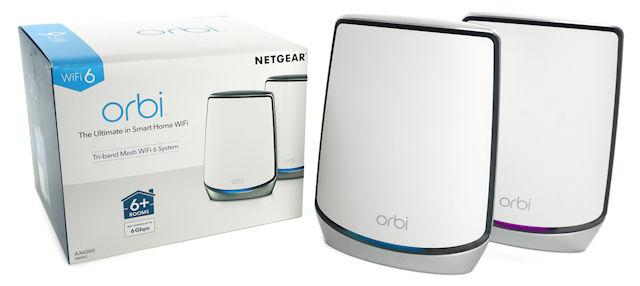 NETGEAR Orbi WiFi 6 Mesh RBK852