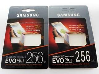 標示 256GB 只有 32GB、龜速 10MB/s  教你分真假 SAMSUNG EVO Plus SD Card
