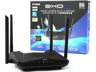 HK$700 有找平玩 Wi-Fi 6 !! D-Link DIR-X1560 AX1500 雙頻無線路由器