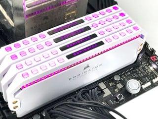 白色 AMD 版本、E-Die 顆粒 ? CORSAIR Dominator Platinum RGB D4-3200 32GB Kit