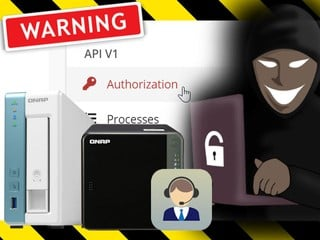 QNAP NAS 爆出嚴重安全漏洞 判斷為嚴重漏洞  黑客能偷取敏感數據
