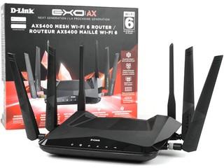 160MHz 4T4R、AX5400 速度 D-Link DIR-X5460 AX5400 雙頻無線路由器