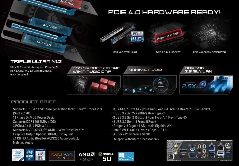 Rocket Lake PCIe 4.0