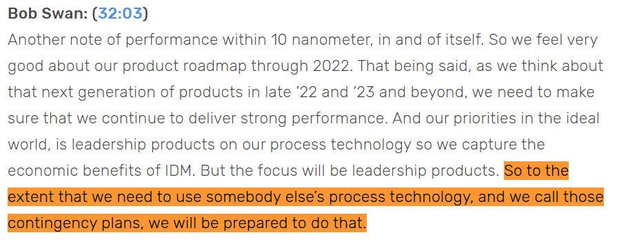 Intel 7nm Delay
