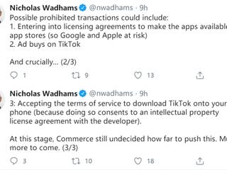 Apple 、Google 需執行交易禁令 全球 App 商店下架 TikTok、Wechat