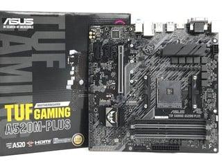 AMD 入門級 A520 平台 ASUS TUF Gaming A520M-PLUS 主機板