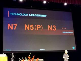較 5nm 功耗再降 25%、性能提升 10% TSMC 3nm (N3) 計劃 2022 年大規模量產