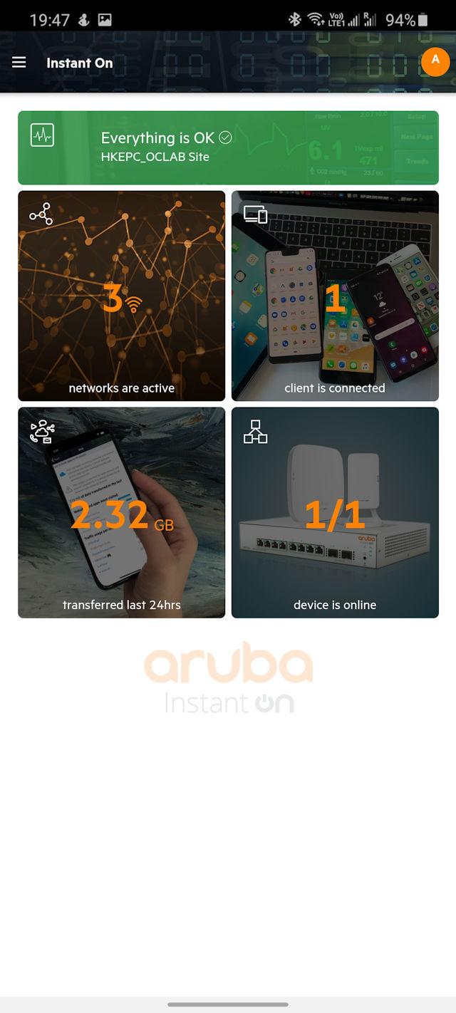 Aruba Instant On AP11D 商業接入點