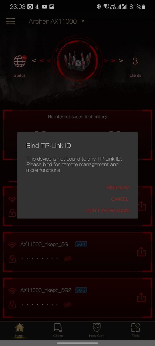 TP-Link Archer AX11000 路由器測試