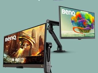 【CBS x BenQ   Premium Display Bundle】 BenQ 顯示器 + CBS 支架套裝組合優惠