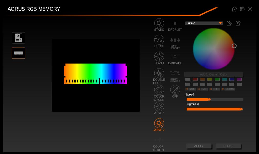 AORUS RGB Memory