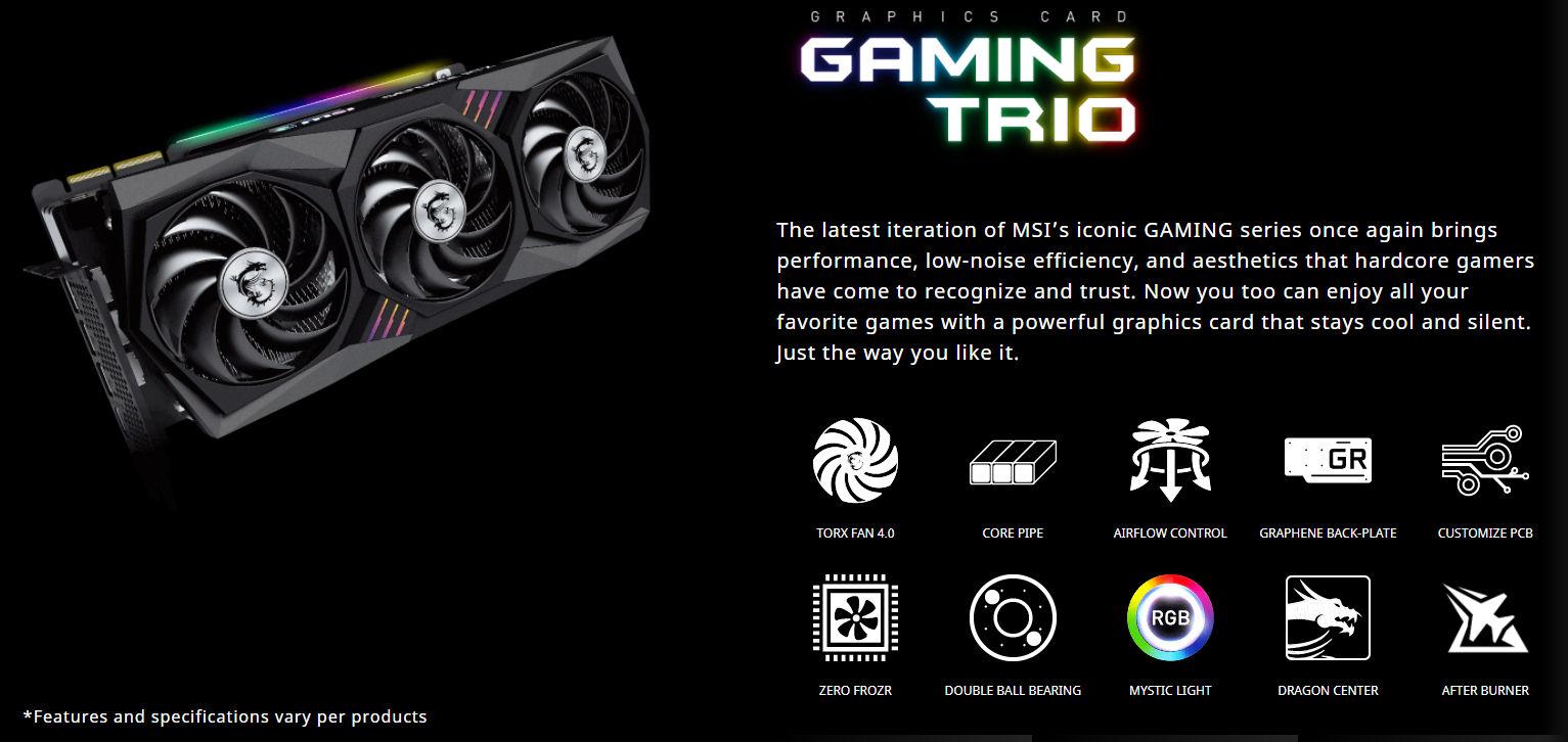 MSI GeForce RTX 30