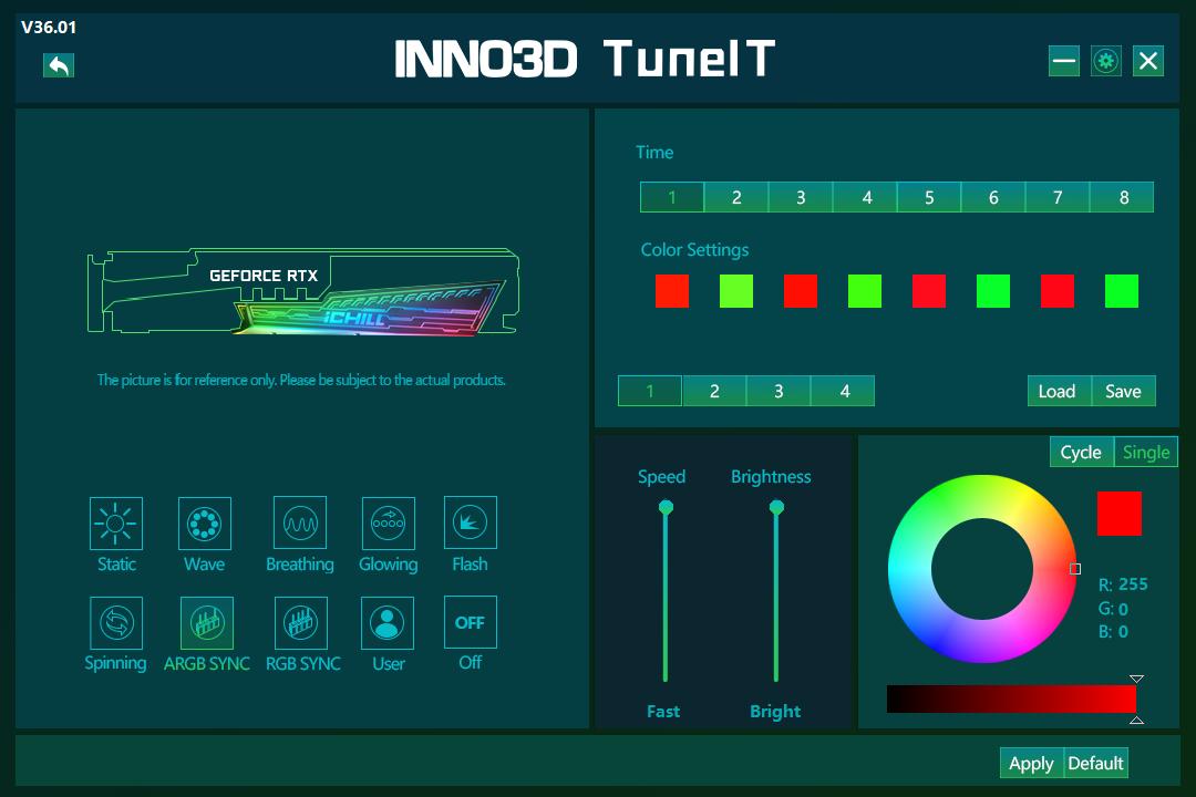 INNO3D  RTX 3080 ICHILL X4